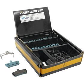 Jagwire Sport Organic Disc Brake Pads SRAM Guide Ultimate/RSC/RS/R/Avid Trail 25 Pairs, azul/marrón